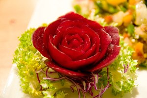 Beet Garnish Ideas