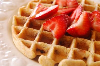 whole wheat waffle