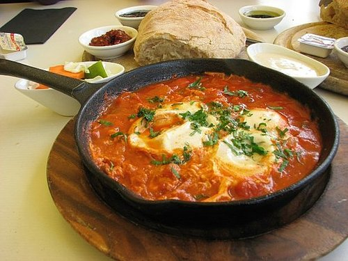 Algerian shakshouka recipe shakshouka by rahul for Algerian cuisine