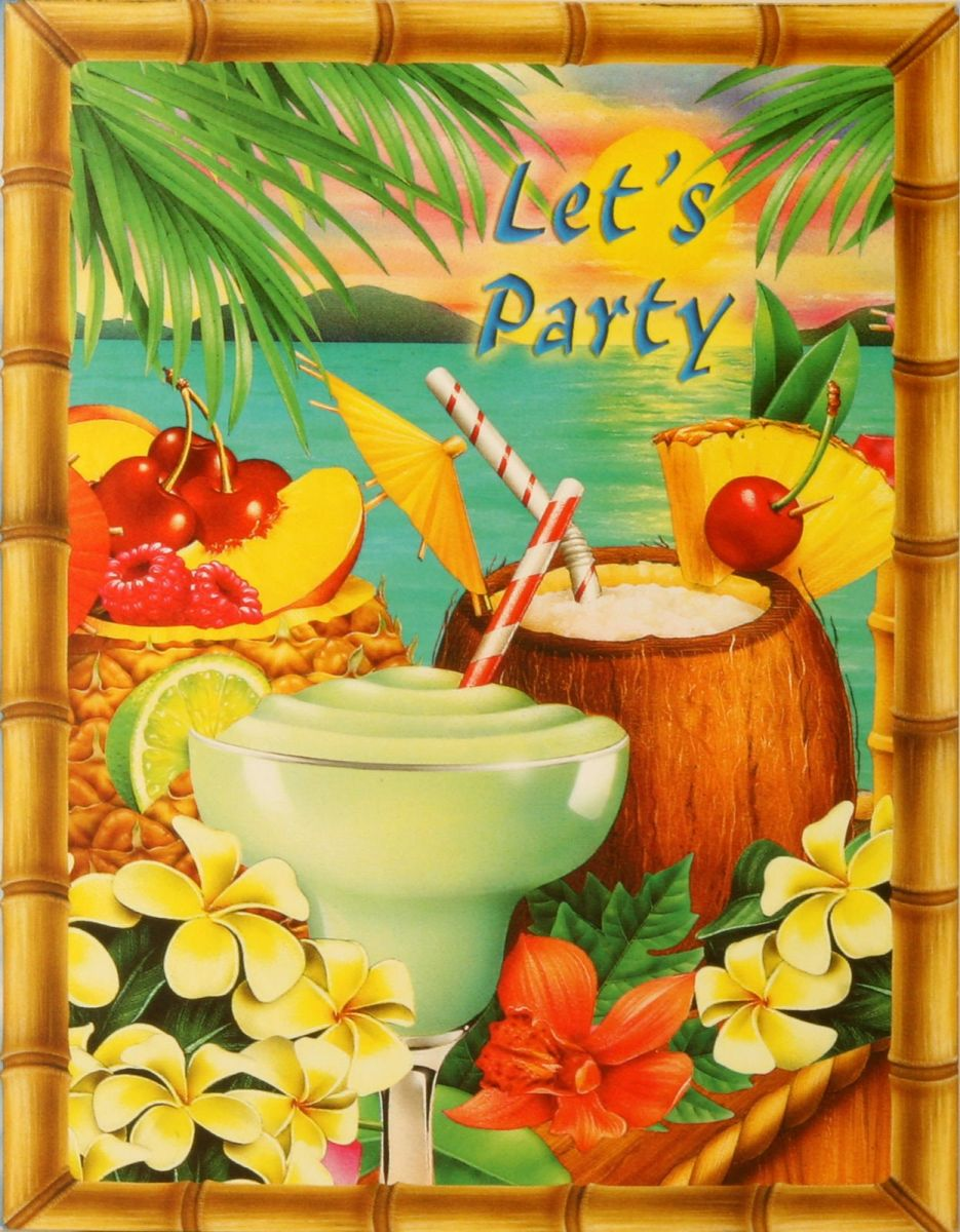 Tropical Island Party Decorations