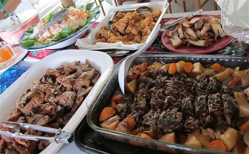 Asian Christmas food