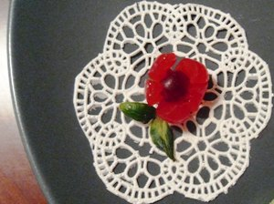 Cherry Flower Garnish