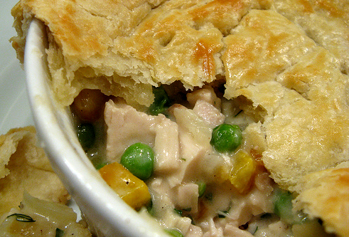 Paper Spring Roll, Veggie Packed Chicken Pot Pie And Poached Chicken ...