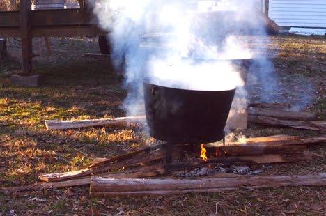 Season butcher kettles
