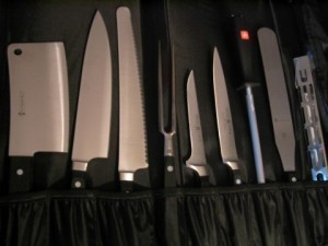 Knives-Lorraine kitchen essentials