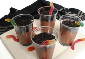 Wiggle Worm Dirt Pudding