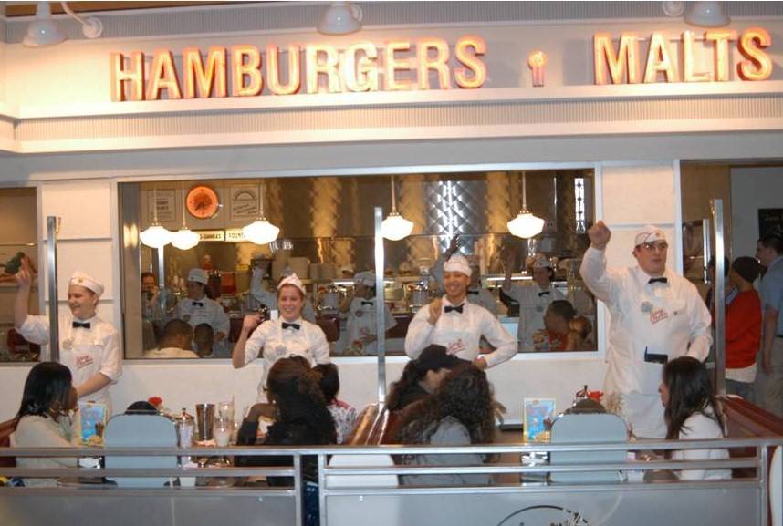 Johnny Rockets-hamburgers