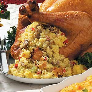 Bread stuffing is a classic recipe that typifies the very spirit of Thanksgiving.