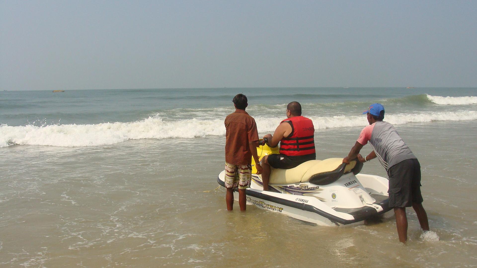Goan water sports