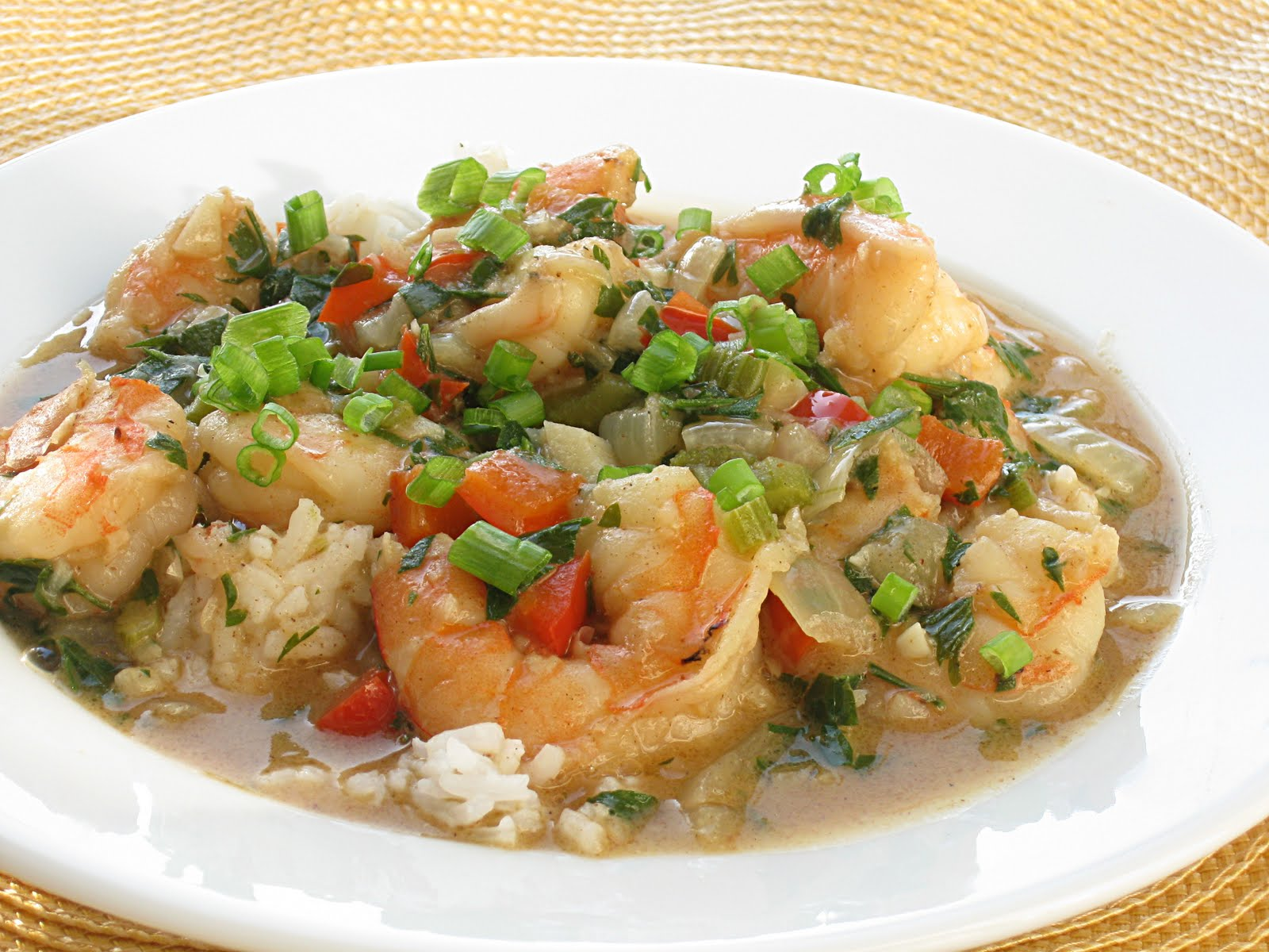 Shrimp Etouffee - Traditional Mardi Gras Foods