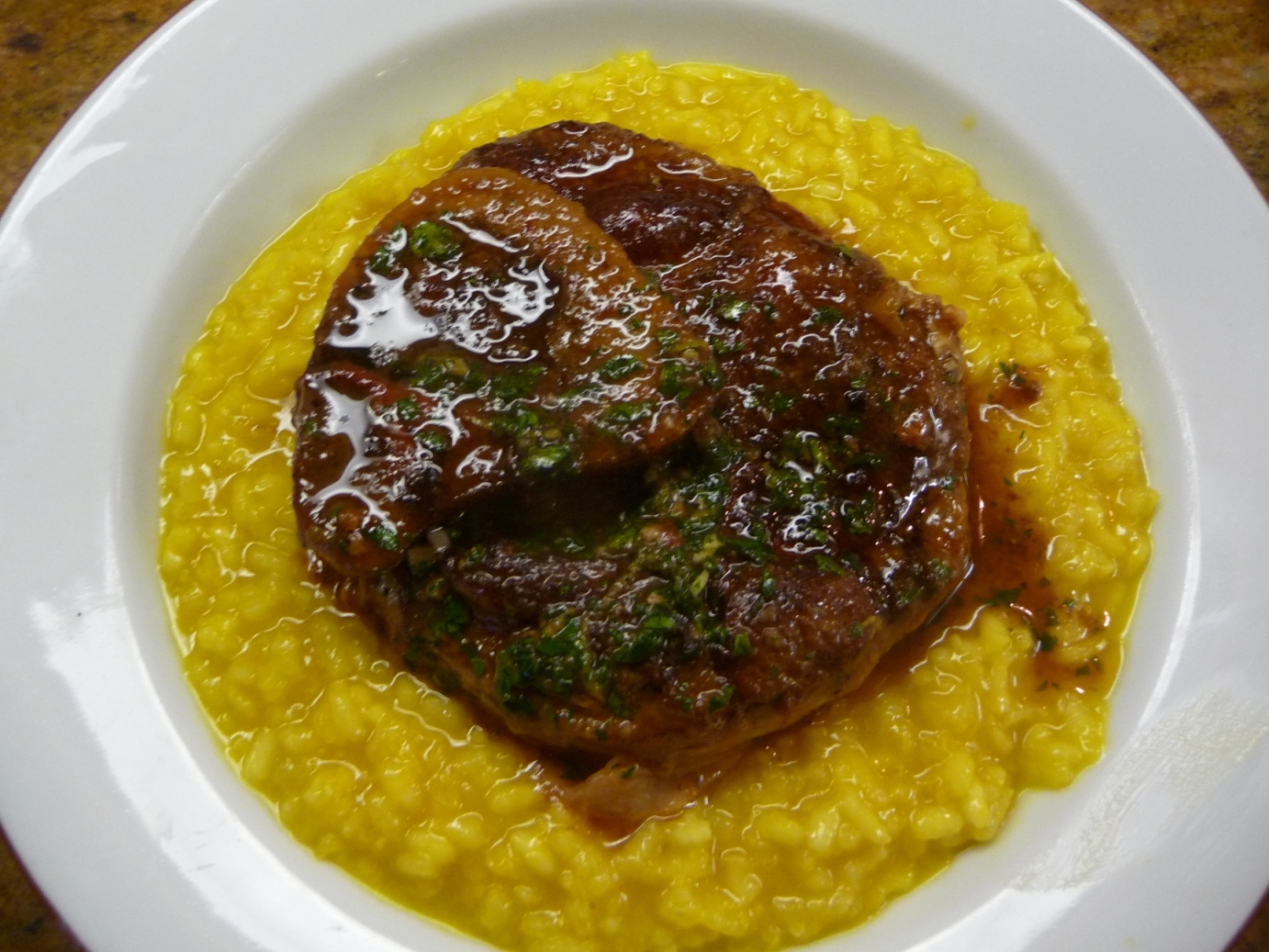 ... alla milanese ossso buco alla milanese serving up osso buco