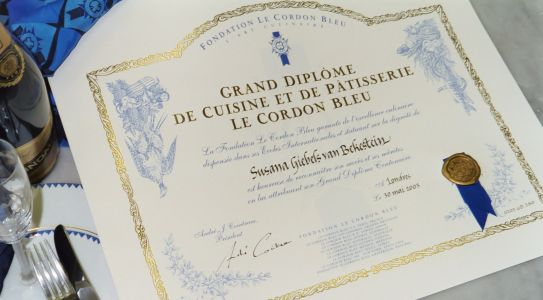 le cordon bleu the grand dipl me the diploma and