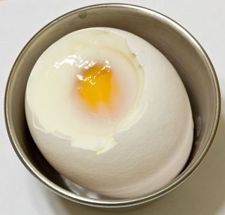 soft-boiling eggs, with timely cooking tips
