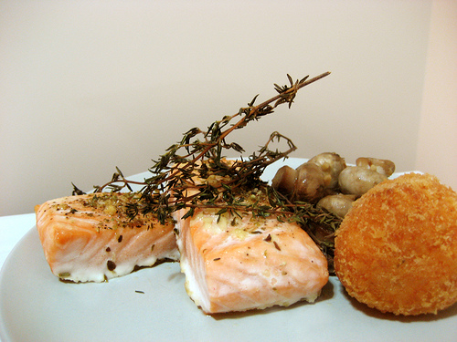 How to bake salmon by ifoodiee for Wegmans fish fry