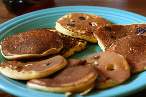 Pancakes preferred by Michael Phelps