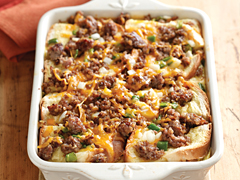 Sausage And Apple Casserole - Quick Sausage Casserole