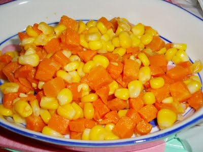 Cut down corns and carrots from your diet