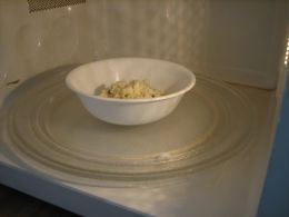 how to melt cheese in the microwave