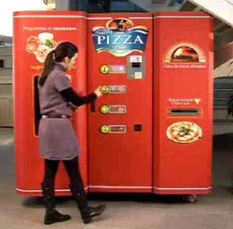 The Roberto Pizza Vending Machine