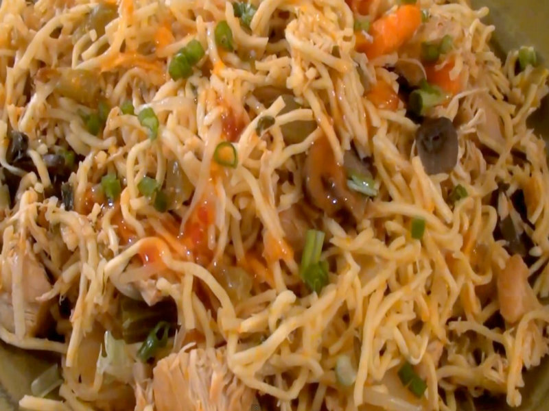 Chow Mein Hotdish How to Make Chicken Chow Mein