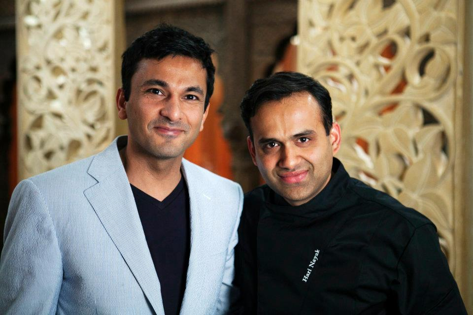 Vikas Khanna And Hari Nayak
