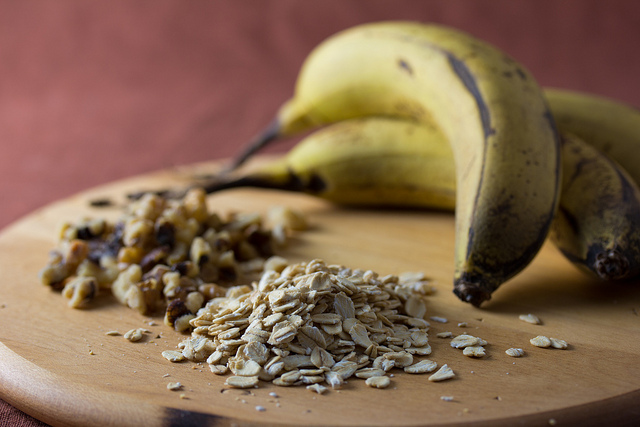 Banana and oatmeal