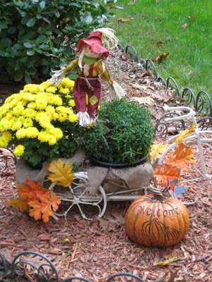 Autumn Yard Decorations