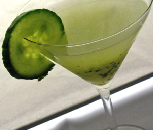 Cucumber Slice Garnish