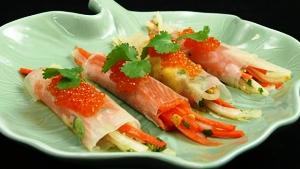 Salmon Roe Garnish