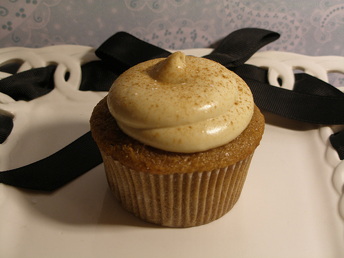 Applesauce Mayonnaise Cupcakes