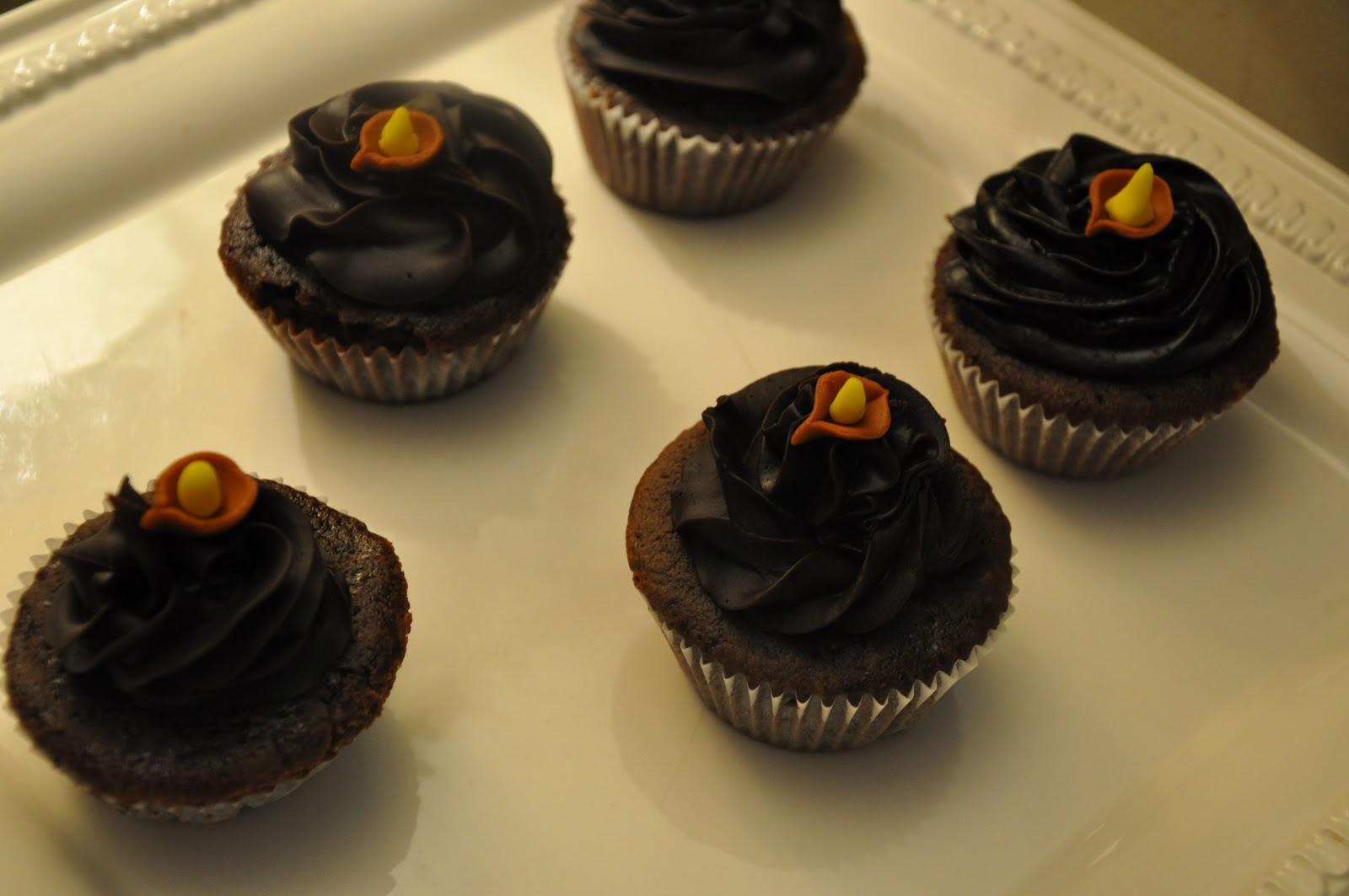 Diya cupcakes