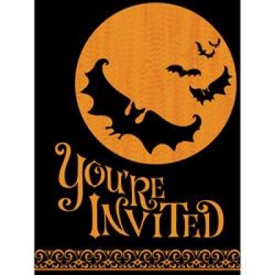 Spooky invite