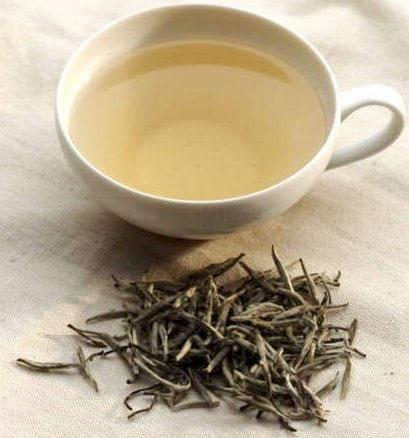 White tea for hair