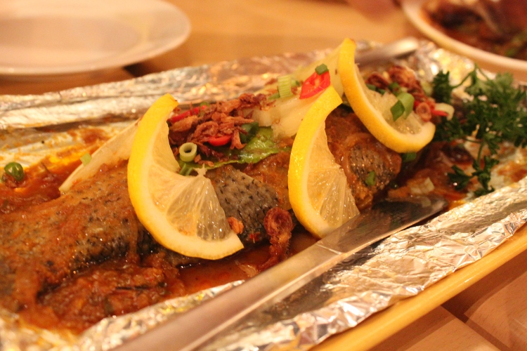 Portuguese baked fish
