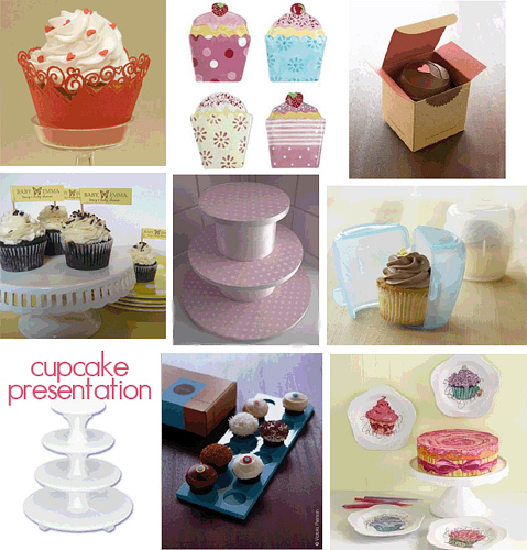 presenting cupcakes in a better way