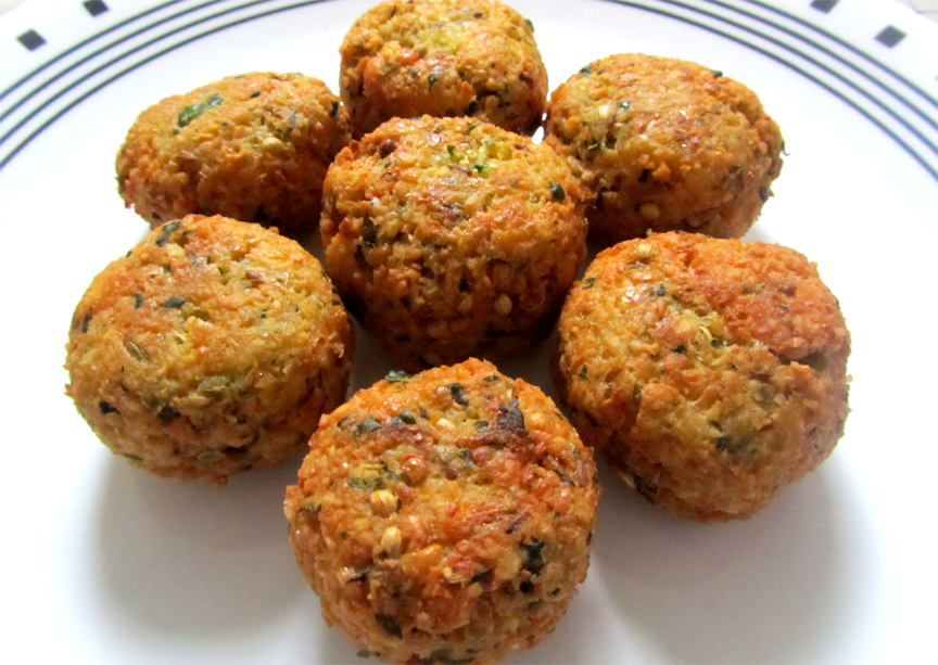 Israeli Falafel Recipe by Calorie.Less.Cooking | iFood.tv