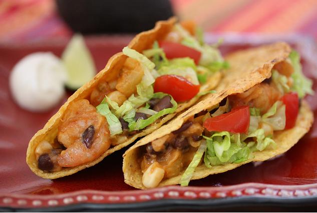 Polynesian Shrimp Tacos Recipe By No Whine With Dinner