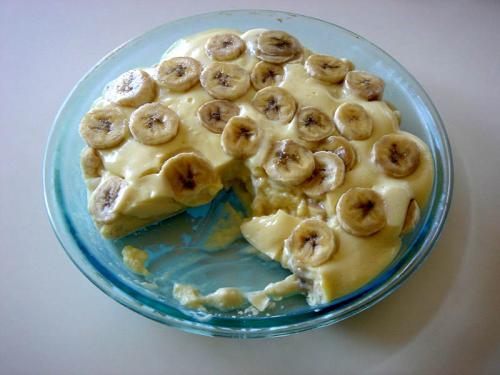 Banana pie