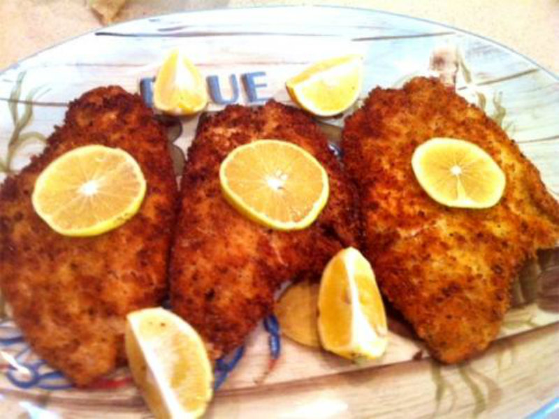 Spice coated pan fried fish recipe by lebanese chef for Best fish to pan fry