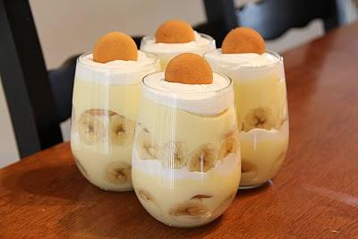 Banana Smoothie Pudding