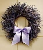Laveder wreath decoration