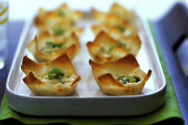 Baked Crab Rangoon Recipe Video by Howdini   iFood.tv