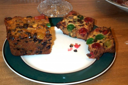 Baking Fruitcake