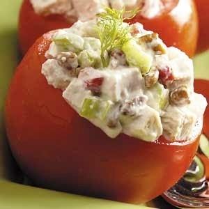 Tomato Cup Garnish