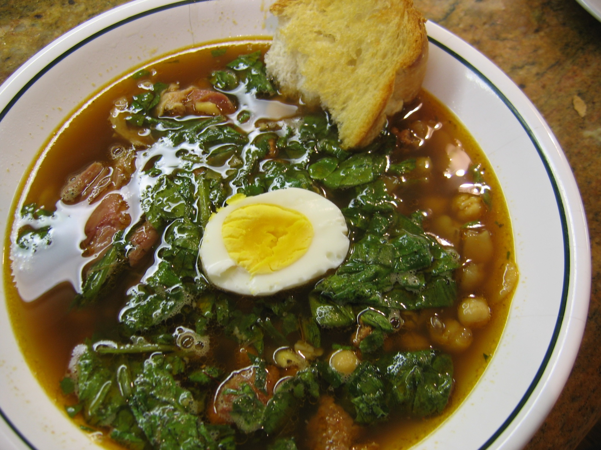 Fava Bean And Chickpea Soup From Andalusia Recipe by Best.Soups.In.The ...