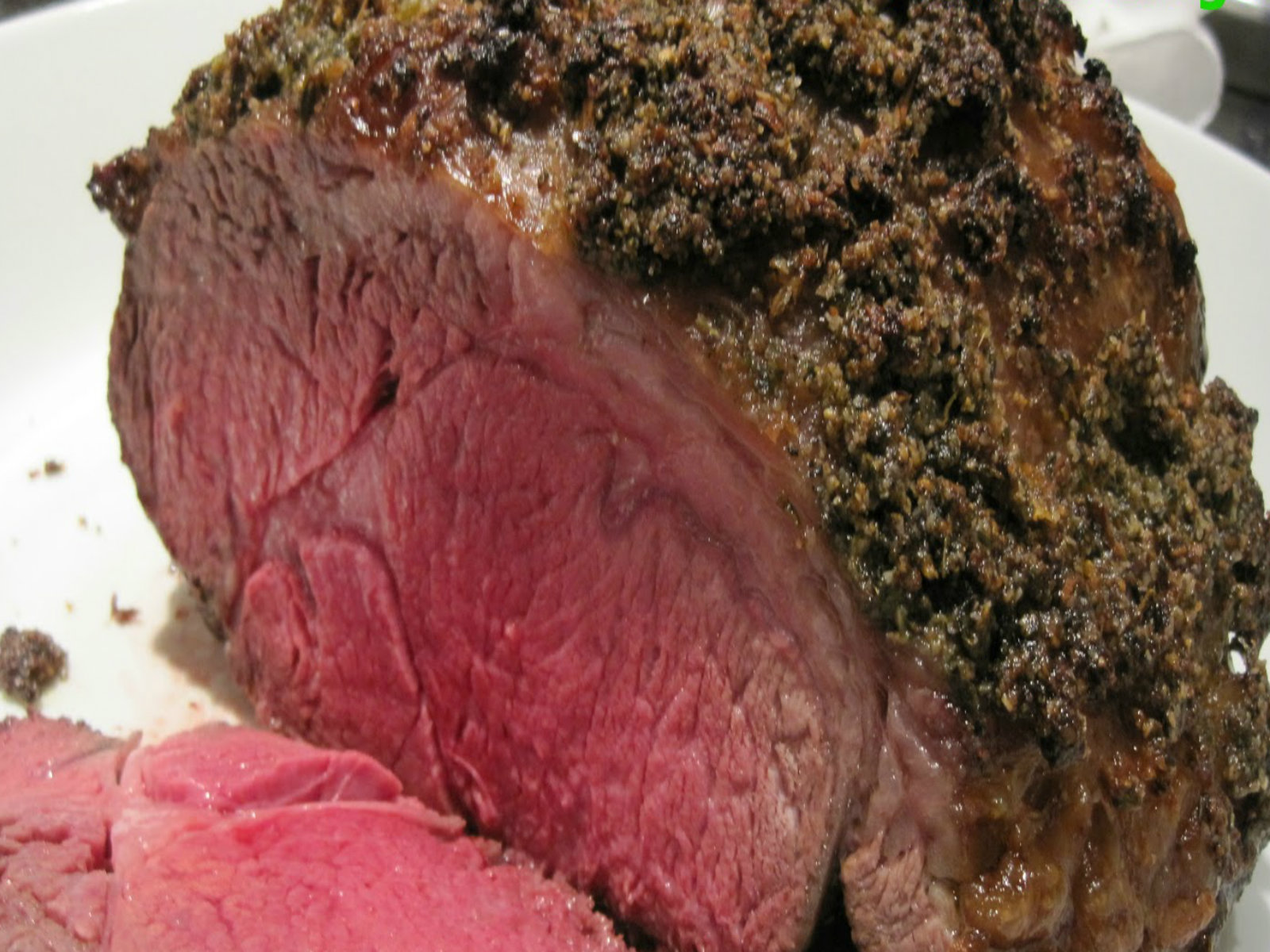 How To Make An Herb Crusted Prime Rib Roast Recipe Video ...