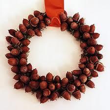 Acorn wreath