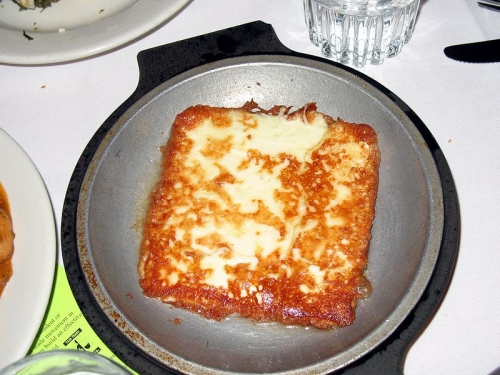 Saganaki: the delicious Greek dish