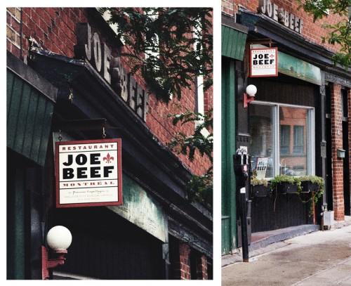 Joe Beef- Montreal's favorite seafood
