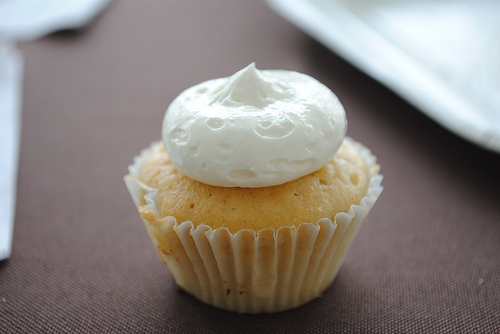 Zucchini Spice Cupcake With Cinnamon Frosting